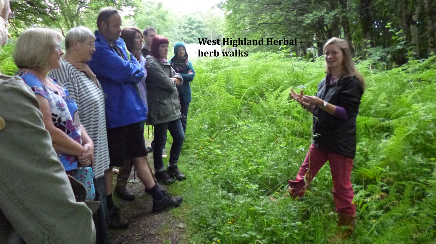 West Highland Herbal walks