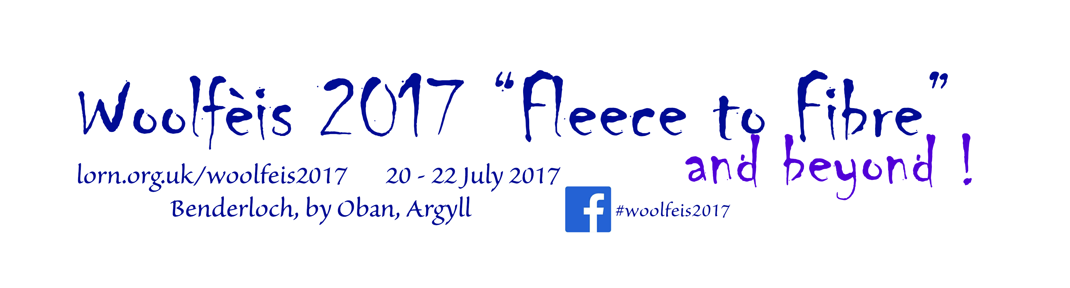 Woolfeis logo 2017 with dates
